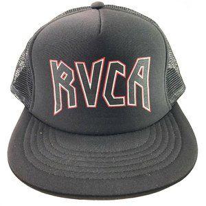 RVCA Snapback Black Hat One Size